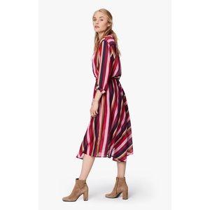Xirena Sasha Barcelona Skirt Seville Stripe Silk